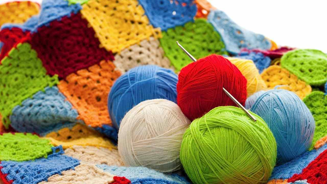 Описание схем филейного вязания